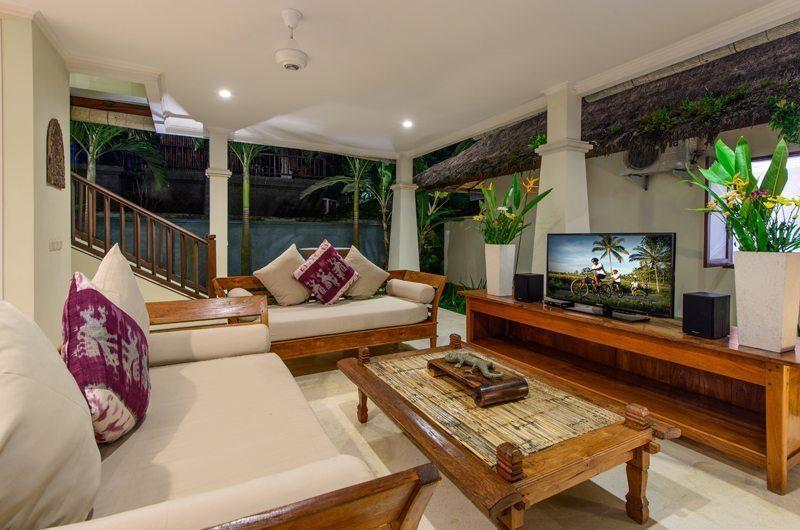 Villa Gils Living Area | Candidasa, Bali