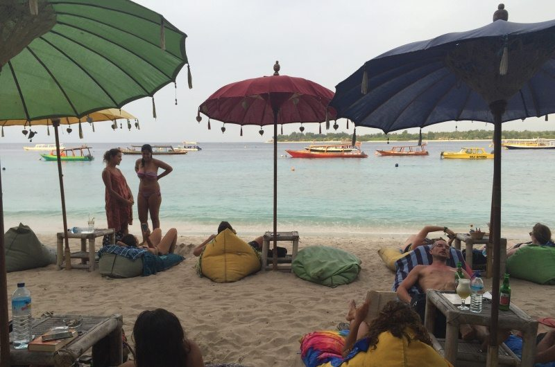 Beach Bars on Gili Islands