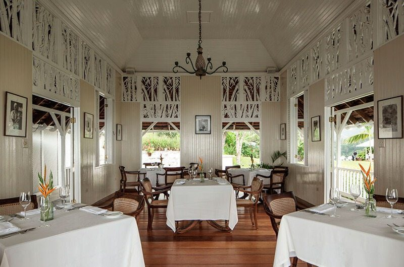 Strawberry Hill Dining Area | Jamaica