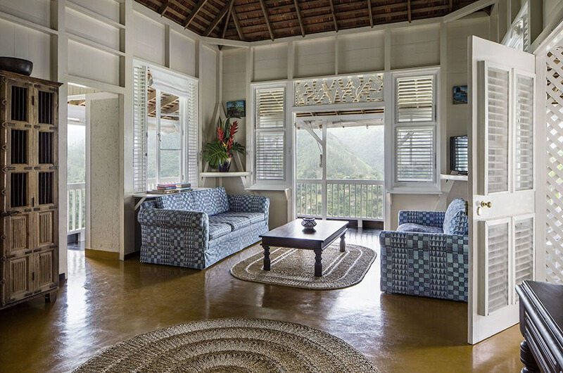 Strawberry Hill Two Bedroom Villa Living Room | Jamaica