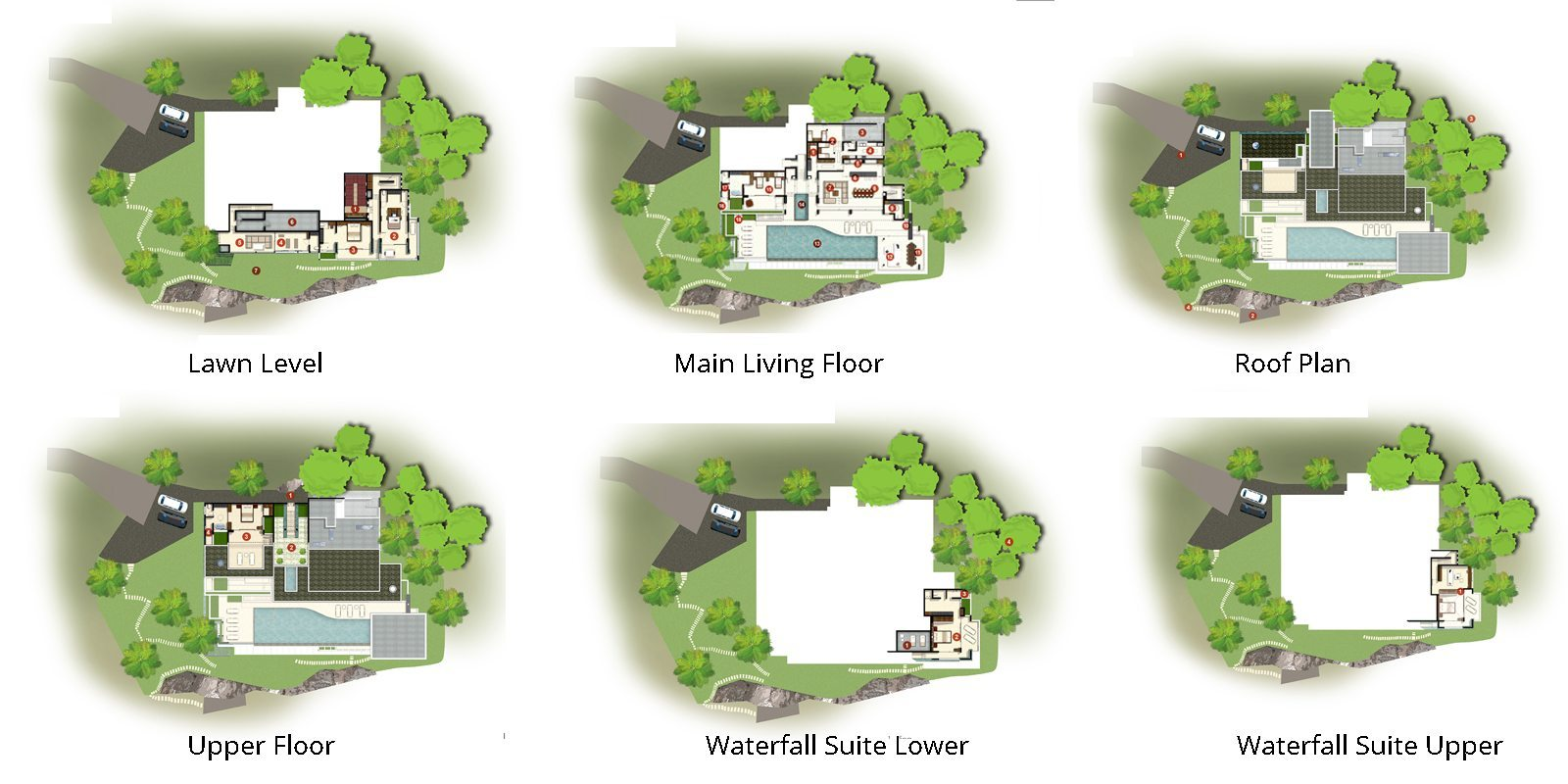 Villa Spice Lime Samui 3 Floorplan | Nathon, Koh Samui