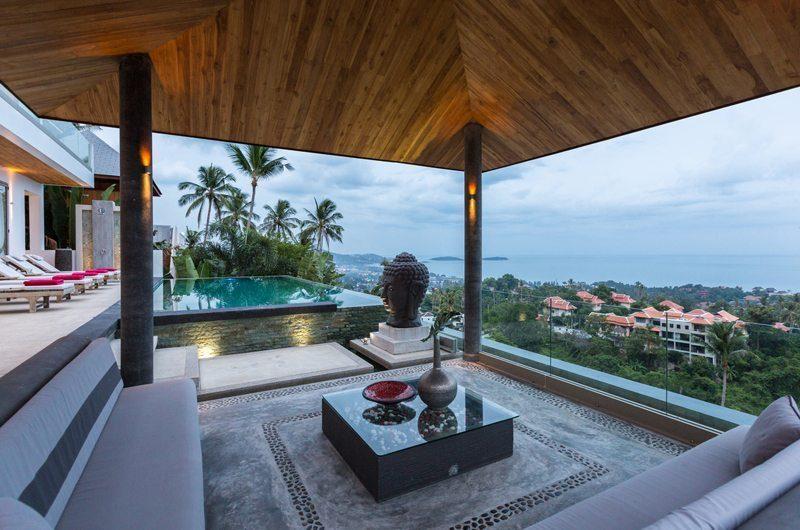 Villa Jaliza Outdoor Lounge | Koh Samui, Thailand