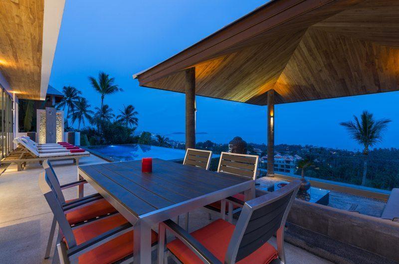 Villa Jaliza Outdoor Dining | Koh Samui, Thailand