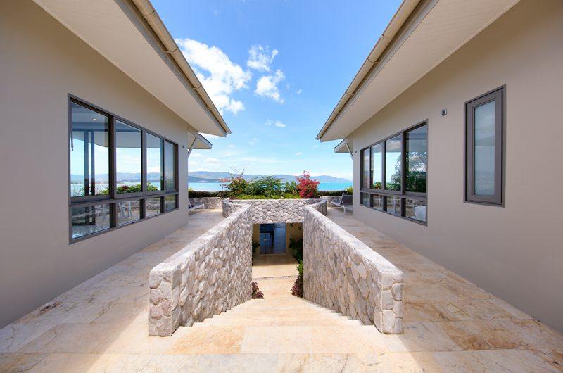 Villa Manta Basement Entrance | Choeng Mon, Koh Samui