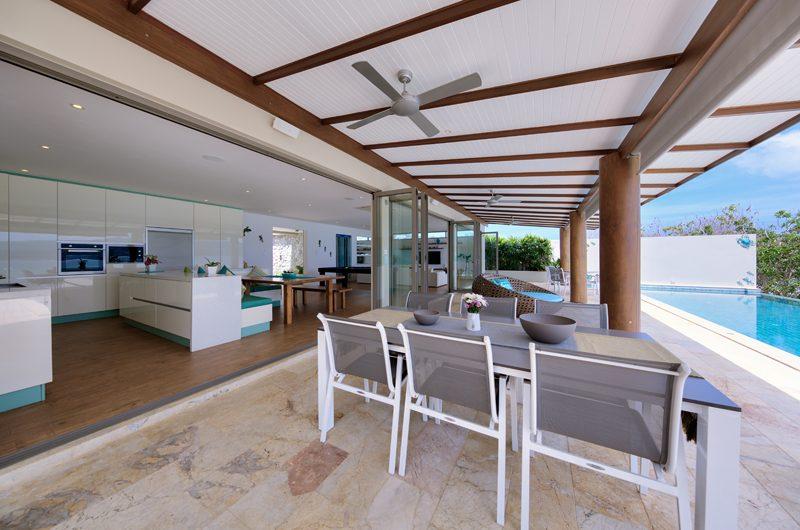 Villa Manta Pool Side Dining | Choeng Mon, Koh Samui