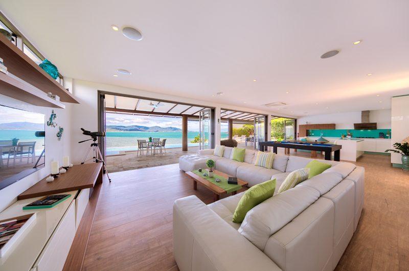 Villa Manta Living Area | Choeng Mon, Koh Samui