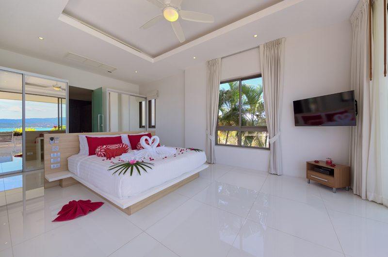 Villa Manta Bedroom View | Choeng Mon, Koh Samui