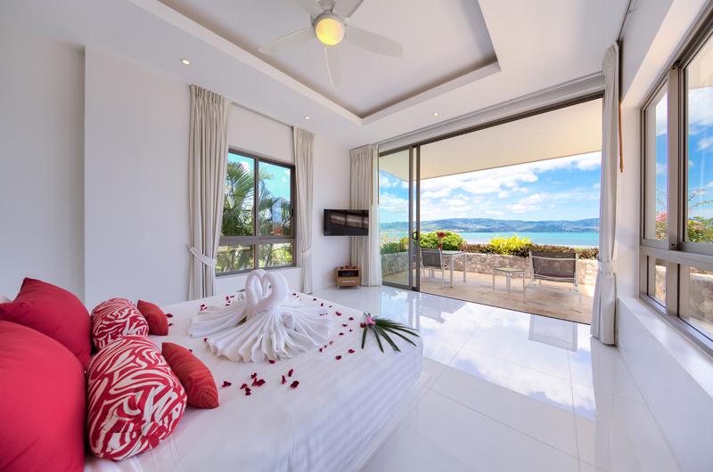 Villa Manta Spacious Bedroom | Choeng Mon, Koh Samui