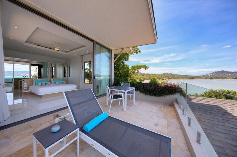 Villa Manta Balcony | Choeng Mon, Koh Samui