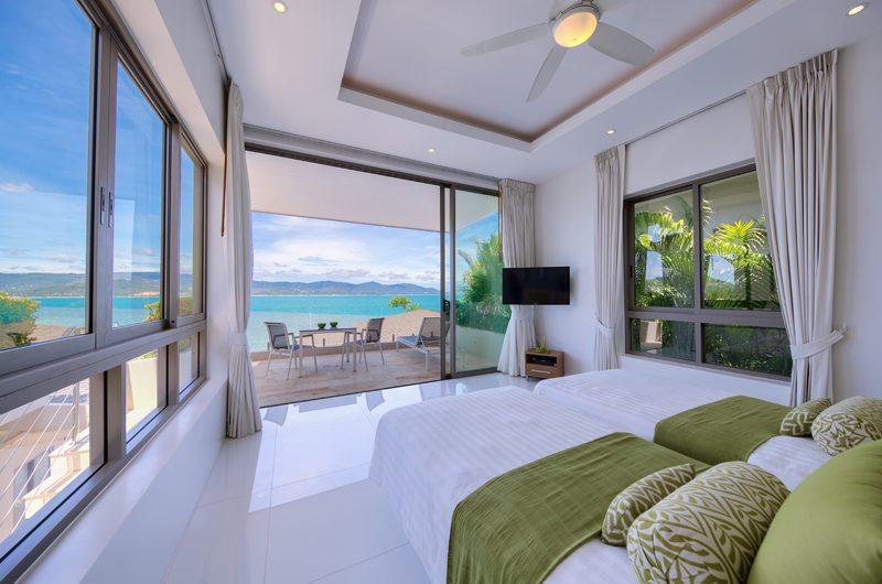 Villa Manta Twin Bedroom with Sea View | Choeng Mon, Koh Samui