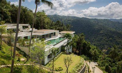 Villa Spice Lime Samui 3 Bird's Eye View | Koh Samui, Thailand