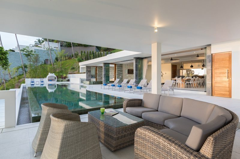 Villa Spice Lime Samui 3 Lounge | Koh Samui, Thailand