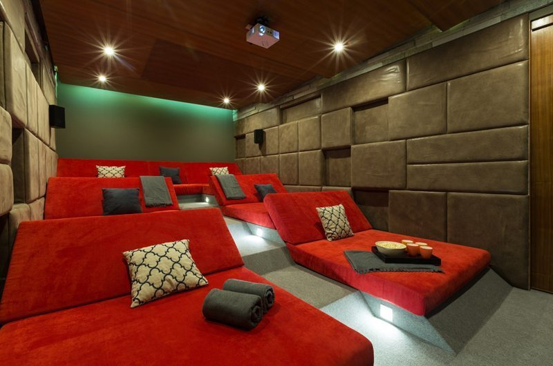 Villa Spice Lime Samui 3 Cinema Room | Koh Samui, Thailand