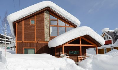 Tahoe Lodge Entrance | Hirafu, Niseko