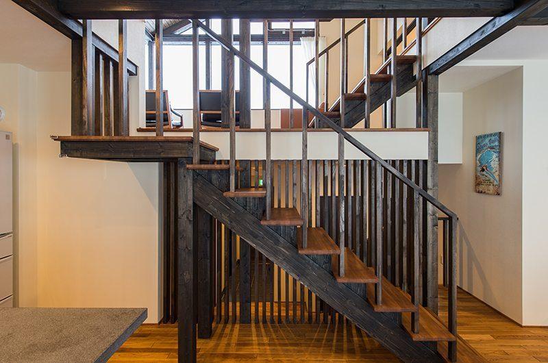 Tahoe Lodge Staircase | Hirafu, Niseko