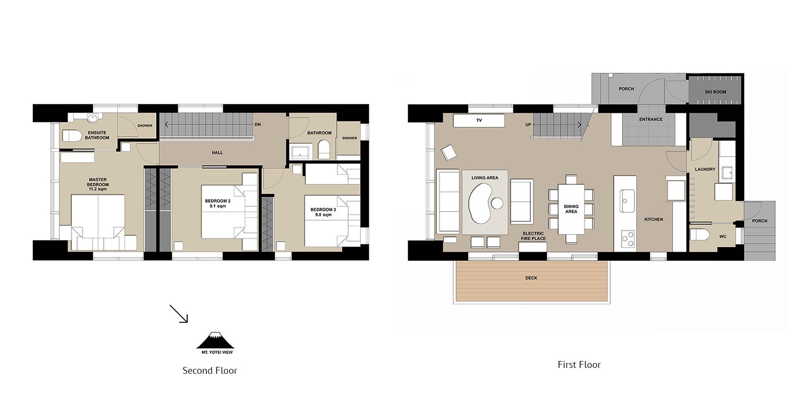 Yuki Uchi Floor Plan | HIrafu, Niseko