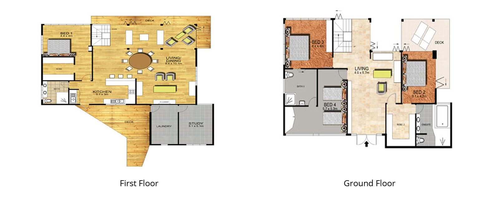 Villa15WS Floorplan | Port Douglas, Queensland