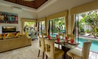 The Residence Villa Siam Residence Living And Dining Area | Seminyak, Bali