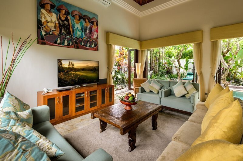 The Residence Villa Siam Residence Living Room   Seminyak, Bali