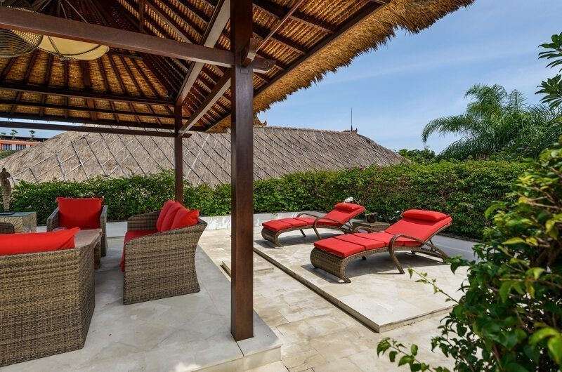 The Residence Villa Siam Residence Outdoor Lounge   Seminyak, Bali