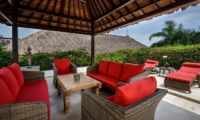 The Residence Villa Siam Residence Outdoor Seating   Seminyak, Bali