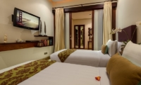 The Residence Villa Siam Residence Twin Bedroom   Seminyak, Bali