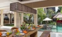 Villa Alin Dining Room | Seminyak, Bali