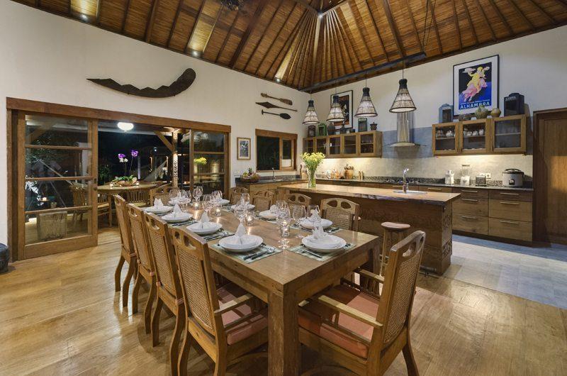 Villa Kavaya Dining Room | Canggu, Bali