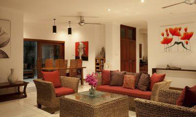 Villa Pantai Living Room | Candidasa, Bali