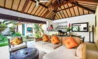 Villa Sepuluh Open Plan Living And Dining Area | Legian, Bali