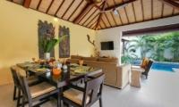 Villa Sepuluh Dining Area | Legian, Bali