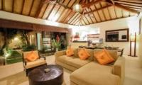Villa Sepuluh Living Room | Legian, Bali