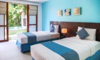 Villa Sepuluh Twin Bedroom | Legian, Bali