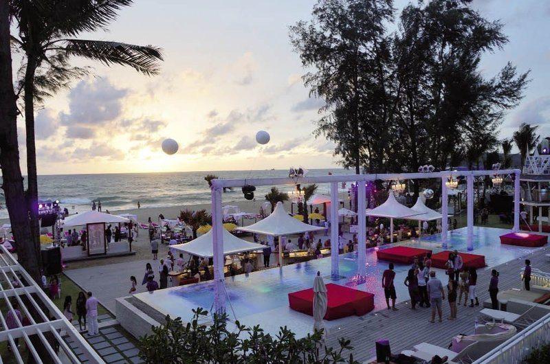 Beach Club Phuket Thailand