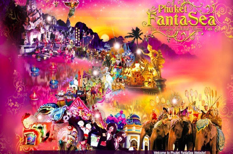 FantaSea Show Phuket Thailand