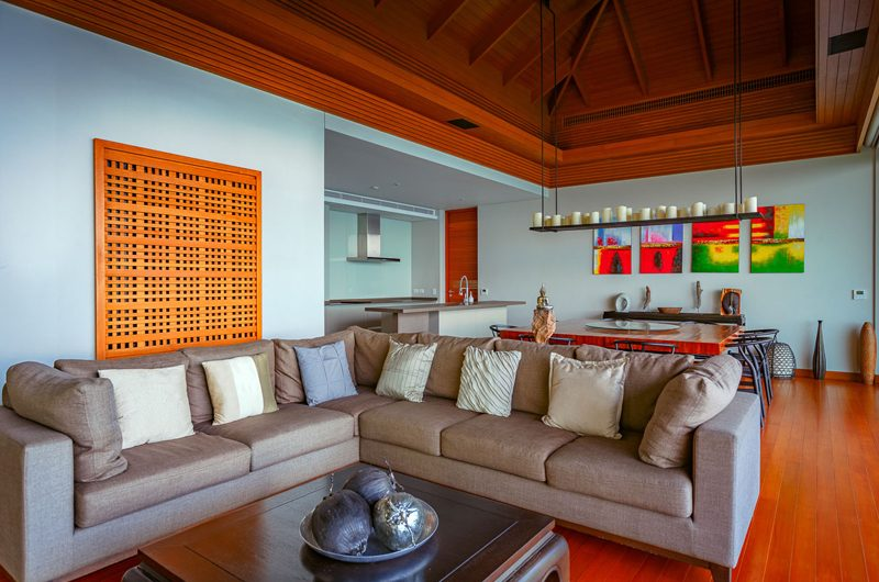 Baan Banyan Phuket Living and Dining Area | Kamala, Phuket