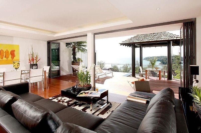 Villa Sitara Living Room | Phuket, Thailand