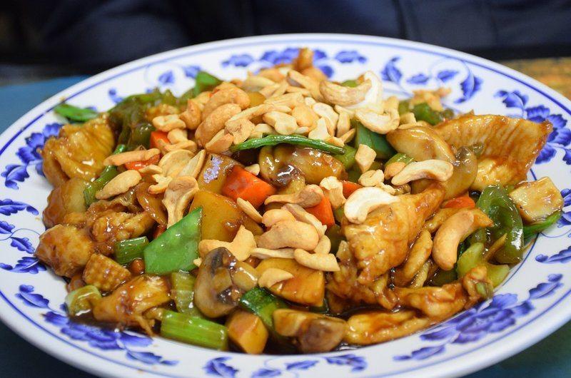 Thai Dishes Chicken Cashew Nuts