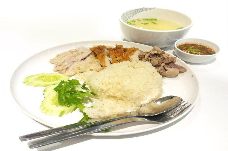 Thai Dishes Chicken Rice