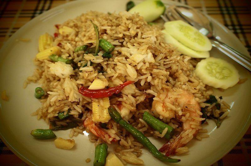 Thai Dishes Kao Pad