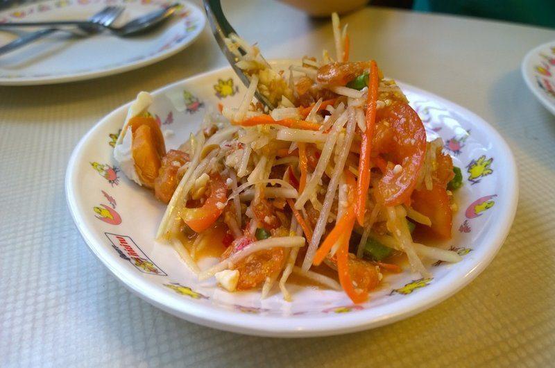 Thai Dishes Som Tam