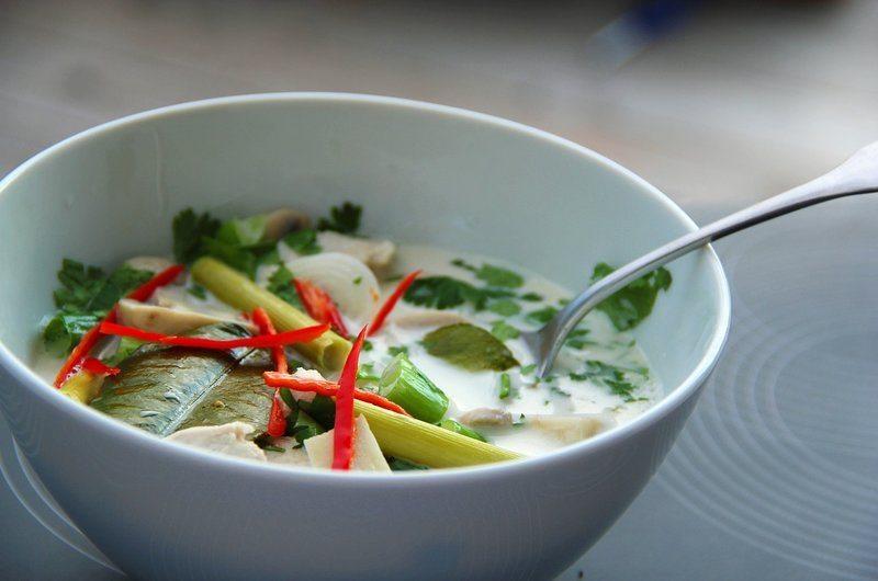 Thai Dishes Tom Kha Gai