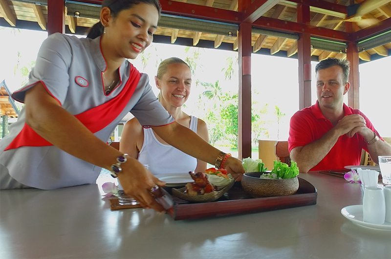 Thailand Koh Yao Noi Ani Villas Lunch
