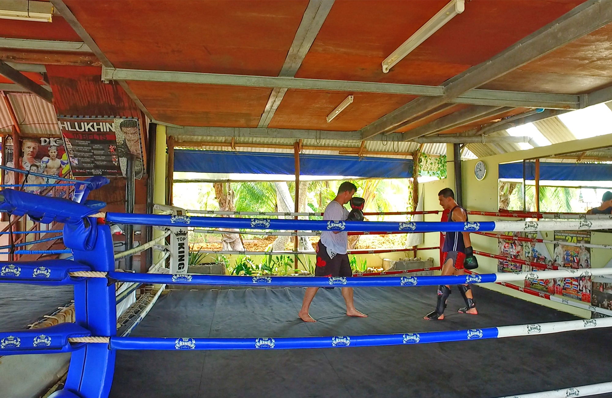 Staying Fit with Thai Boxing