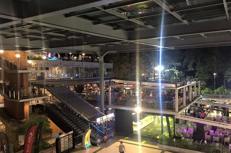 Thailand Phuket Banana Walk Shopping Mall