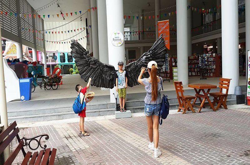 Thailand Phuket Patong Promenade Shopping Mall