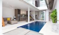 Allure Villas Open Plan Living And Dining Area | Seminyak, Bali