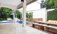 Allure Villas Outdoor View | Seminyak, Bali