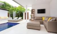 Allure Villas Open Plan Living Area | Seminyak, Bali