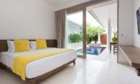 Allure Villas Bedroom Front View | Seminyak, Bali